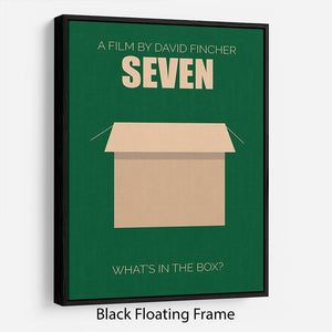 Seven Minimal Movie Floating Frame Canvas - Canvas Art Rocks - 1