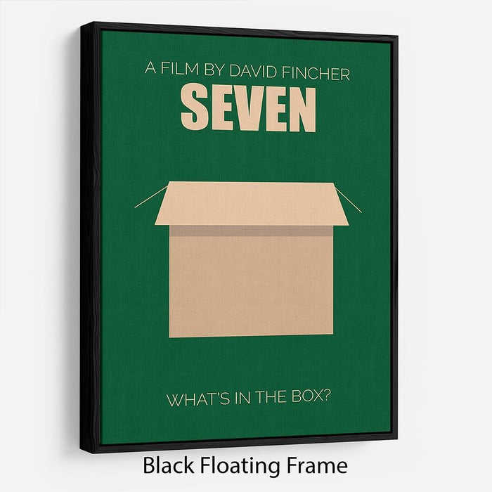 Seven Minimal Movie Floating Frame Canvas