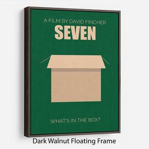 Seven Minimal Movie Floating Frame Canvas - Canvas Art Rocks - 5