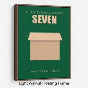Seven Minimal Movie Floating Frame Canvas - Canvas Art Rocks - 7