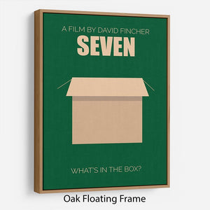 Seven Minimal Movie Floating Frame Canvas - Canvas Art Rocks - 9