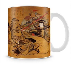 Seven gods of fortune by Hokusai Mug - Canvas Art Rocks - 1