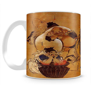 Seven gods of fortune by Hokusai Mug - Canvas Art Rocks - 2