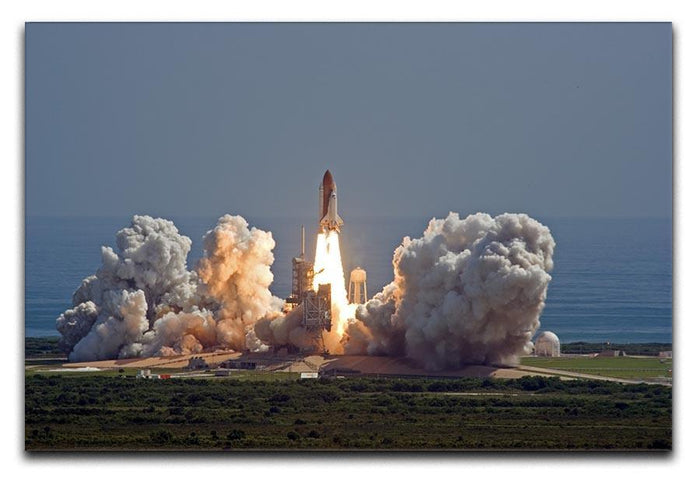 Shuttle Endeavour Launch Canvas Print or Poster