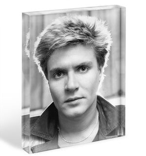 Simon Le Bon Acrylic Block - Canvas Art Rocks - 1