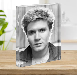 Simon Le Bon Acrylic Block - Canvas Art Rocks - 2