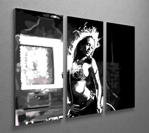 Sin City 3 Split Panel Canvas Print - Canvas Art Rocks - 4
