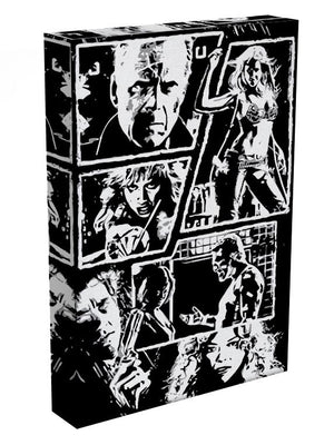 Sin City Comic Strip Print - Canvas Art Rocks - 3