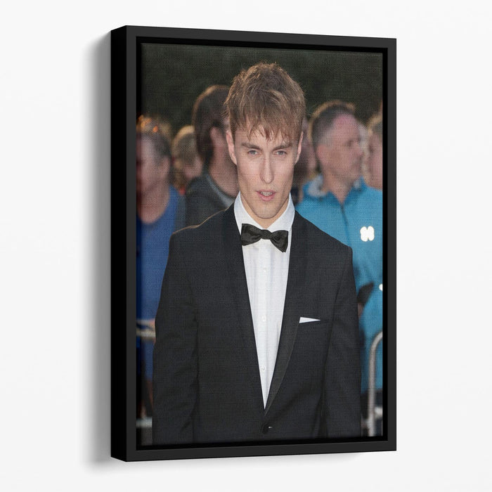 Singer Sam Fender Floating Framed Canvas