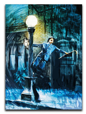 Singing In The Rain Print - Canvas Art Rocks - 1