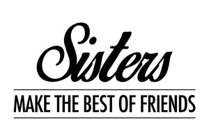Sisters Friends Wall Decal - Canvas Art Rocks - 2