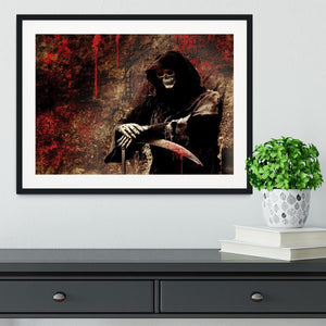 Skeleton Framed Print - Canvas Art Rocks - 1