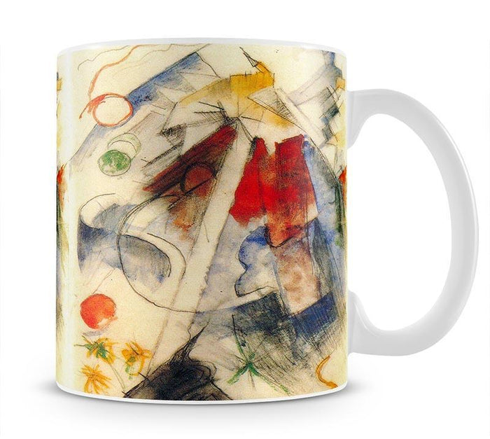 Sketch of the Brenner road 1 by Franz Marc Mug