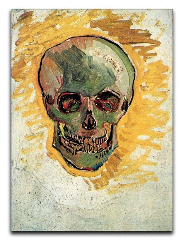 Skull by Van Gogh Canvas Print or Poster