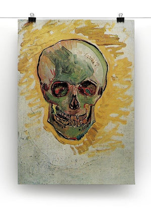 Skull by Van Gogh Canvas Print & Poster - Canvas Art Rocks - 2
