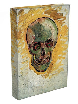 Skull by Van Gogh Canvas Print & Poster - Canvas Art Rocks - 3