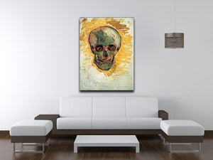 Skull by Van Gogh Canvas Print & Poster - Canvas Art Rocks - 4