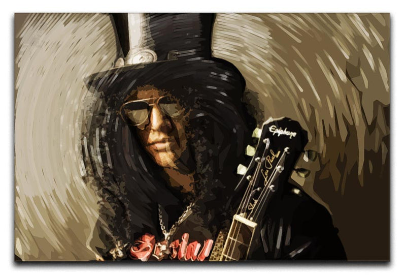 Slash Print - Canvas Art Rocks - 1