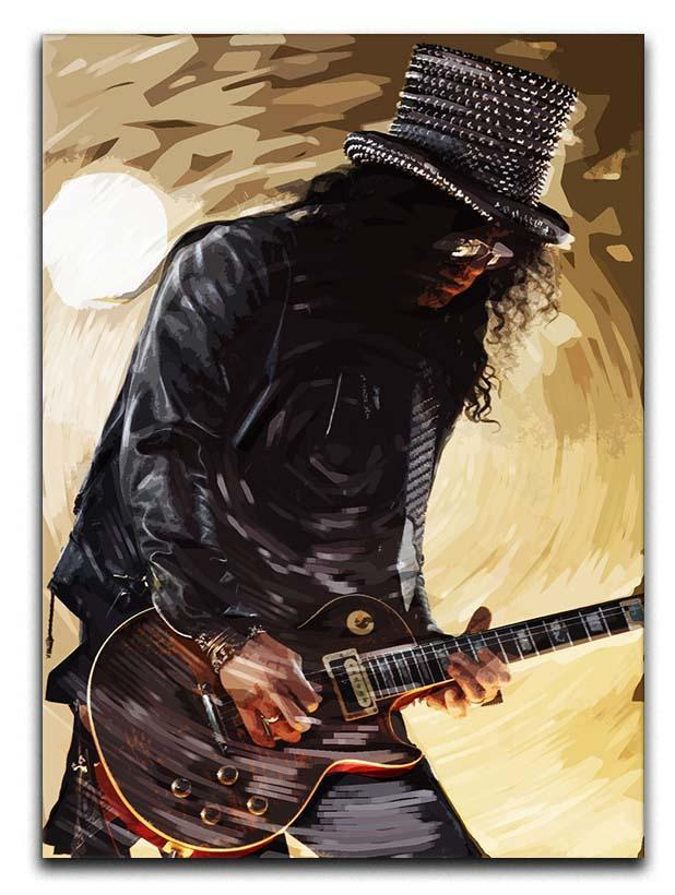 Slash Guns N Roses Canvas Print or Poster  - Canvas Art Rocks - 1