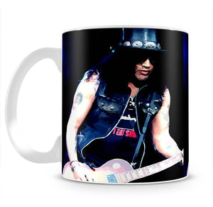 Slash Live Mug - Canvas Art Rocks - 2