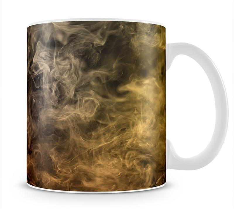 Smoke Art Mug - Canvas Art Rocks - 1