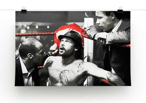 Snatch Boxing Ring Corner Print - Canvas Art Rocks - 2