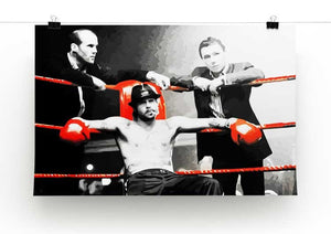 Snatch Boxing Ring Print - Canvas Art Rocks - 2