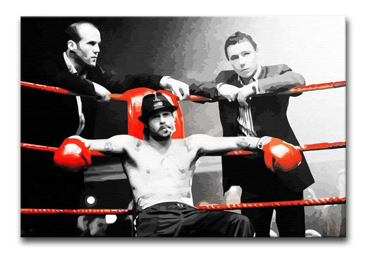 Snatch Boxing Ring Print - Canvas Art Rocks - 1
