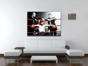 Snatch Boxing Ring Canvas Print or Poster - Canvas Art Rocks