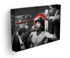 Snatch Boxing Ring Corner Canvas Print & Poster - Canvas Art Rocks