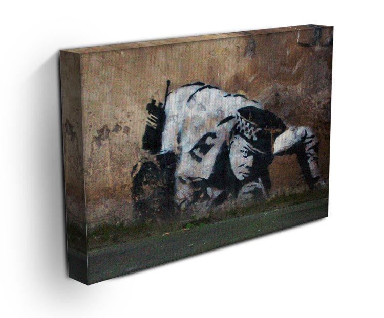 Banksy Snorting Policeman Print - Canvas Art Rocks - 3
