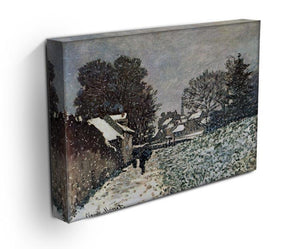 Snow at Argenteuil by Monet Canvas Print & Poster - Canvas Art Rocks - 3