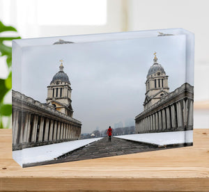 Snow in Greenwich Acrylic Block - Canvas Art Rocks - 2
