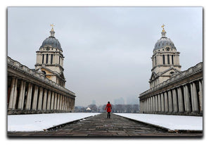Snow in Greenwich Canvas Print or Poster - Canvas Art Rocks - 1