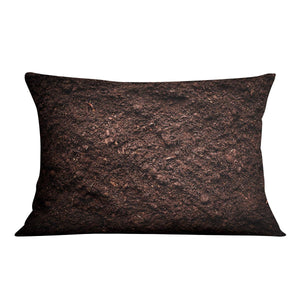 Soil texture Cushion - Canvas Art Rocks - 4