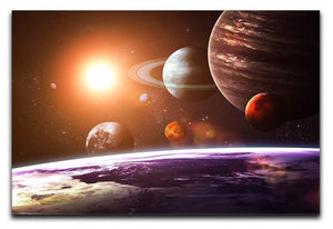 Solar system and space objects Canvas Print or Poster  - Canvas Art Rocks - 1