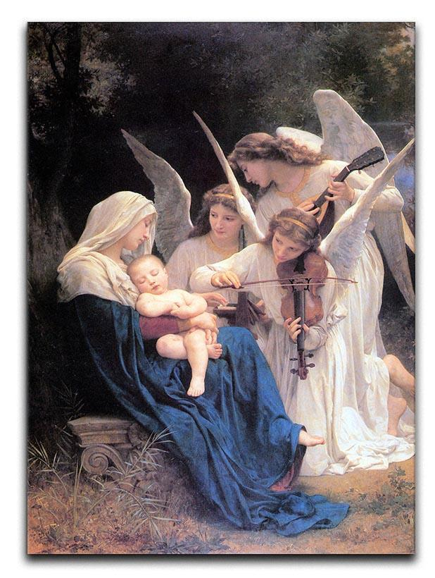 Song of the Angels By Bouguereau Canvas Print or Poster  - Canvas Art Rocks - 1