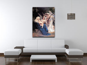 Song of the Angels By Bouguereau Canvas Print or Poster - Canvas Art Rocks - 4