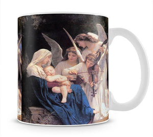 Song of the Angels By Bouguereau Mug - Canvas Art Rocks - 1