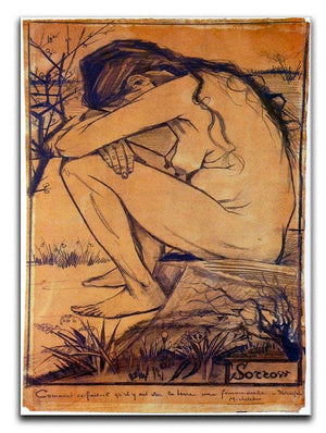 Sorrow by Van Gogh Canvas Print & Poster  - Canvas Art Rocks - 1