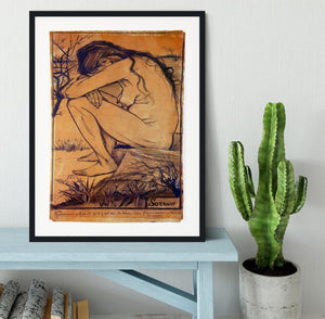 Sorrow by Van Gogh Framed Print - Canvas Art Rocks - 1