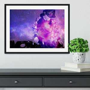 Space DJ Framed Print - Canvas Art Rocks - 1