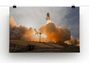 Space Shuttle Cape Canaveral Print - Canvas Art Rocks - 2