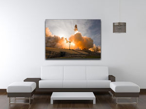 Space Shuttle Cape Canaveral Print - Canvas Art Rocks - 4