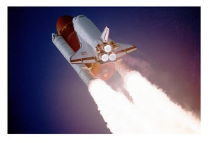 Space Shuttle Close Up Print - Canvas Art Rocks - 1