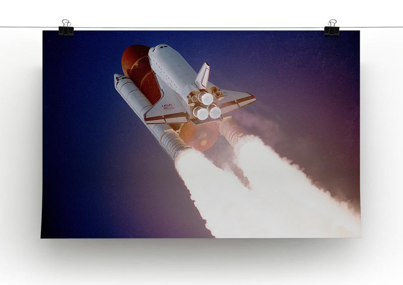 Space Shuttle Close Up Print - Canvas Art Rocks - 2