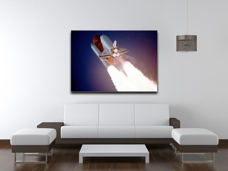 Space Shuttle Close Up Print - Canvas Art Rocks - 4