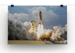 Space Shuttle Launch Print - Canvas Art Rocks - 2