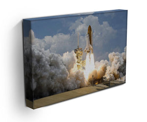 Space Shuttle Launch Print - Canvas Art Rocks - 3