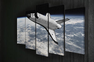 Space Shuttle leaving earth 5 Split Panel Canvas - Canvas Art Rocks - 2